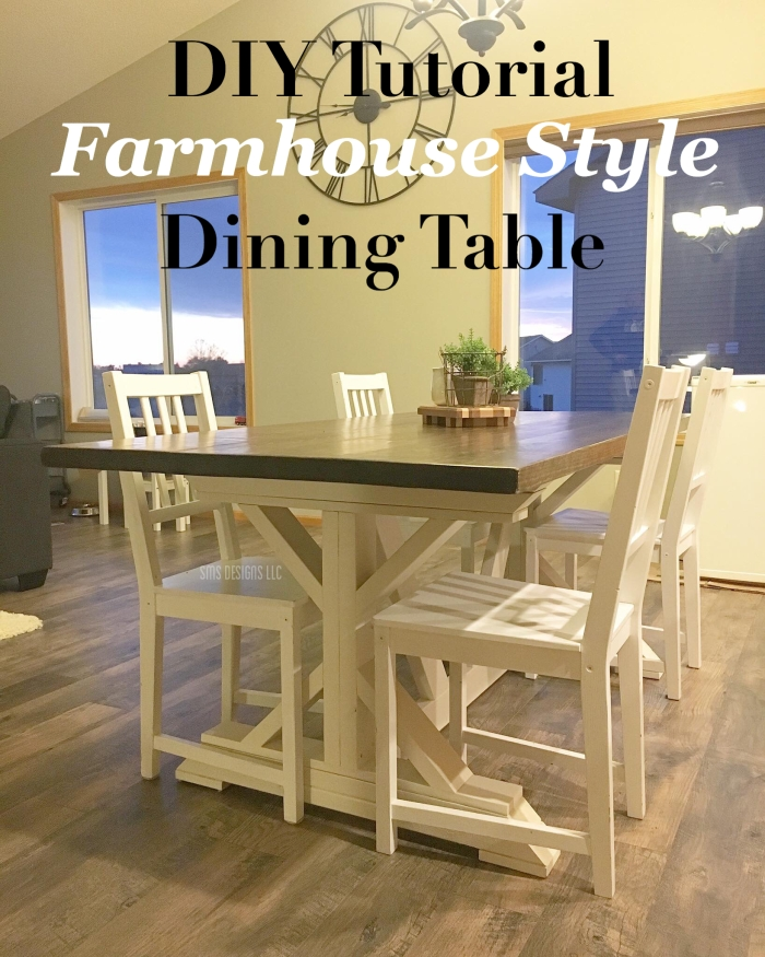 We Have Always Wanted A Beautiful Farmhouse Style Table But Never Had The Space To Accommodate One