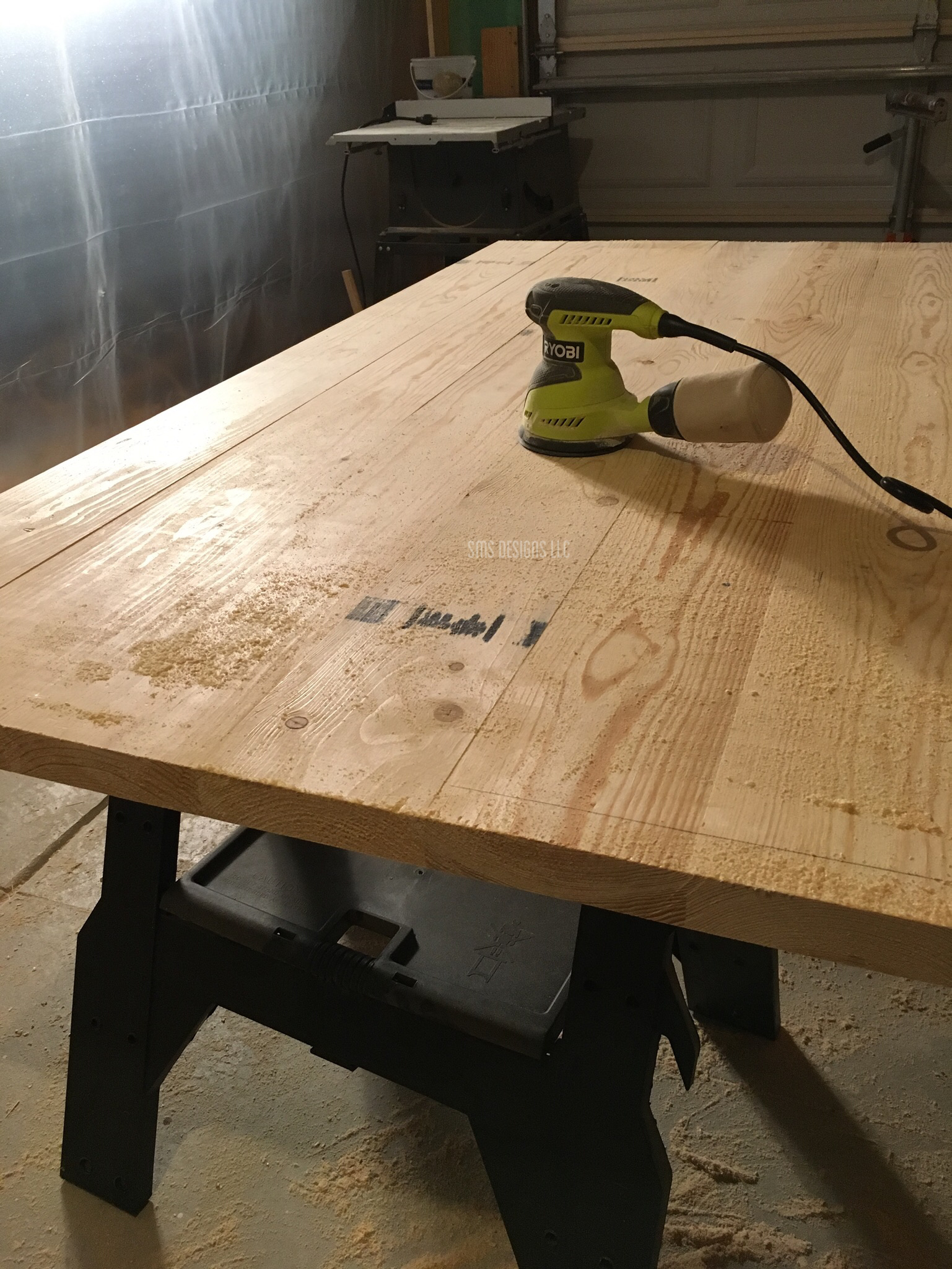 Once You Are Happy With The Texture Of Your Table Top, You Are Ready To  Stain Or Finish Your Top. I Dont Have Any Personal Suggestions For Finishing  A Raw ...